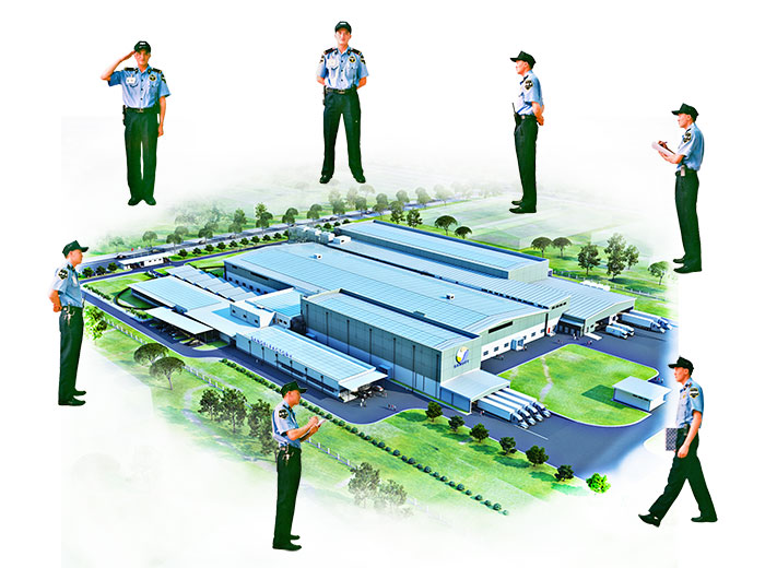 Professional Security Services For The Factory